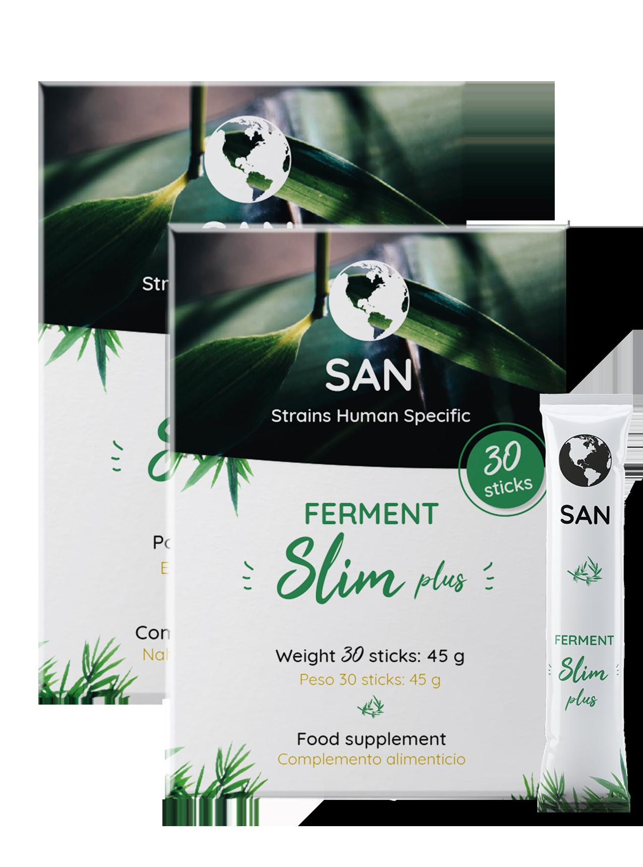 Ferments Slim plus - compléments alimentaires